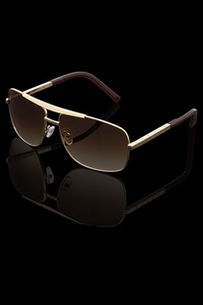 Solbrille - Vincent - Gold Brown