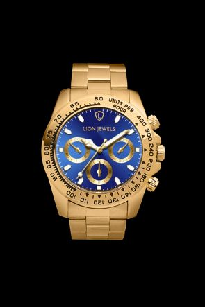 Napoli Gold/Blue Watch